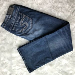 Silver Tuesday Mid Bootcut Jeans